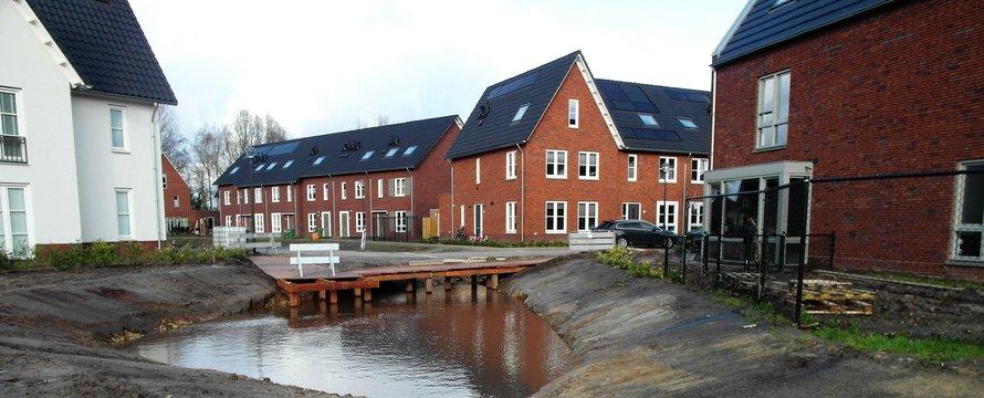 Wonen aan een ecologische verbindingszone in Westrik