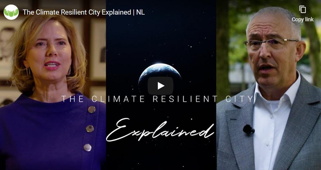 City Deal Klimaatadaptatie maakt afscheidsdocu