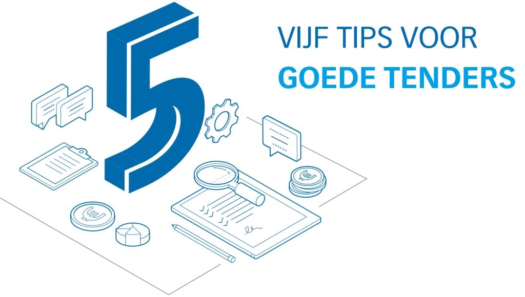 Vijf tips voor goede tenders